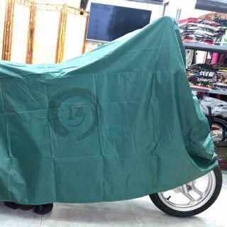 Bạt trùm xe máy Kara House loại dày tốt màu xanh lá đậm PKXM001 giá sỉ