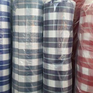 Vải dệt caro chất cotton 100% giá sỉ