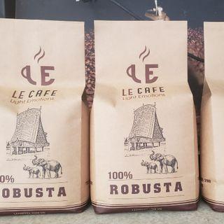 Cà phê sạch rang xay Le Cafe giá sỉ