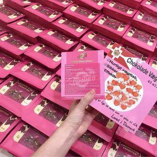 Kẹo giảm cân socola hồng hàng chuẩn giá sỉ