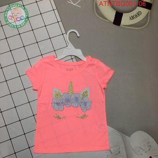 Áo thun ngắn tay bé gái nhiều họa tiết Place cao cấp ATNTBG001 giá sỉ