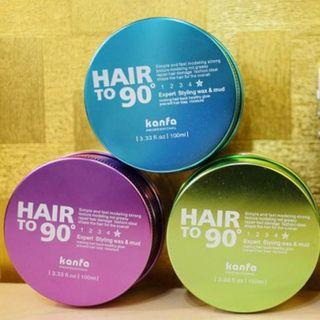 [WAX VUỐT TÓC] - Sáp Vuốt Tóc nam Hair To 90 Kanfa 4.7 giá sỉ