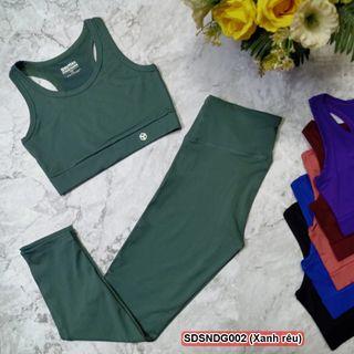 Bộ quần áo thể thao nữ giá sỉ giá sỉ