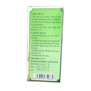 Siro Kid Baby New ( 20ống x 10ml )- Date mới - Chiết khấu cao giá sỉ