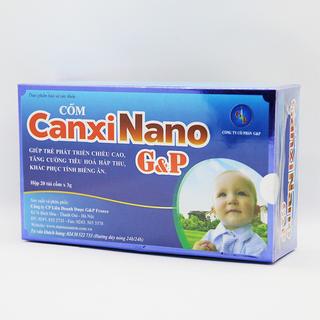 Cốm Canxi Nano G&P (20 túi x 3g) - Date mới - Chiết khấu cao giá sỉ