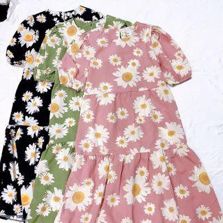 Đầm hoa thiết kế- họa tiết giá sỉ