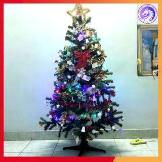 Cây Thông Noel Đầy Đủ Phụ Kiện Trang Trí Cao 1.5m - Bán Cực Chạy giá sỉ