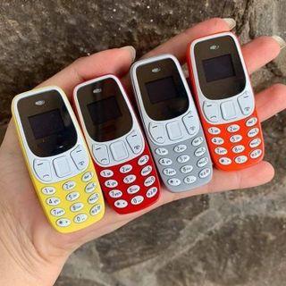 Điện thoại mini 3310 - Bm10 mini siêu nhỏ 2 sim 2 sóng tích hợp thẻ nhớ nghe gọi giá sỉ