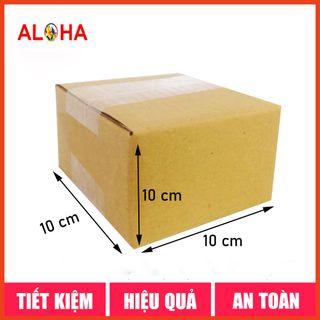 Hộp carton size 10x10x10 giá sỉ