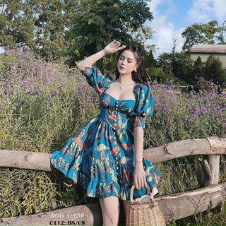 Đầm hoa nữ giá sỉ