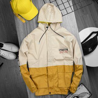 Áo khoác kaki - áo khoác thô nam nữ phối túi hộp, giá sỉ, giá bán buôn giá sỉ