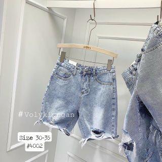 Quần ngố jean nữ size đại rách Ms4002 kho chuyên sỉ jean 2Kjean giá sỉ