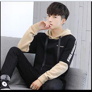 Áo hoodie nỉ siêu dày phối tay siêu chất giá sỉ