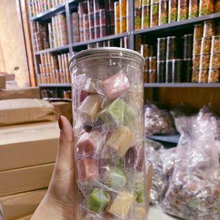 Kẹo dừa mix 7 màu giá sỉ