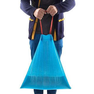 Cuộn Túi ni lông đựng rác có dây rút miệng giá sỉ