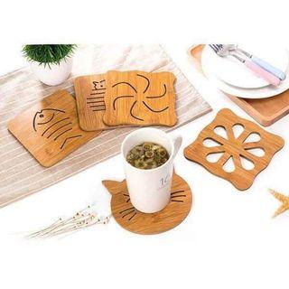 Miếng lót nồi bằng gỗ giá sỉ