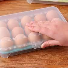 Hộp nhựa đựng trứng trong suốt 15 ô giá sỉ