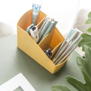 Kệ nhựa đựng bút viết, vật dụng 4 ngăn nhiều màu giá sỉ