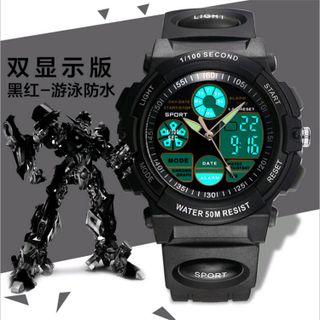 Đồng hồ điện tử dáng thể thao MZ-1480GQ giá sỉ