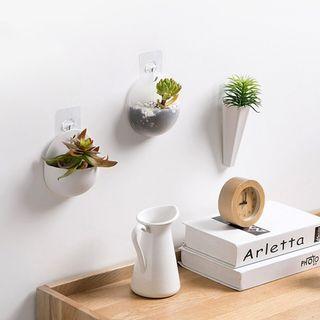 Chậu cây treo tường trang trí bằng nhựa (mẫu dài) giá sỉ