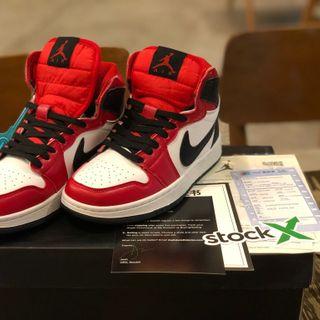 Giày thể thao JD1 cổ cao đen đỏ MÃ: 0556 giá sỉ