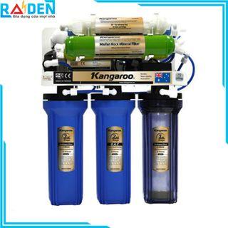Máy lọc nước RO Kangaroo KG108A với 8 cấp lọc, bổ sung khoáng chất cho nước (Không có vỏ) giá sỉ