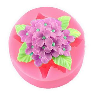Khuôn silicon làm rau câu hoa cẩm tú cầu - Mã số 68 giá sỉ