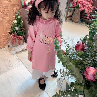 Áo dài Ngọc Hoa TE2948 giá sỉ