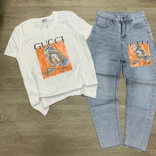 Bộ quần và áo nữ Guccii giá sỉ
