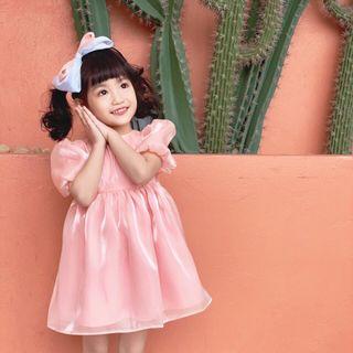 Váy lụa công chúa TE2986 giá sỉ