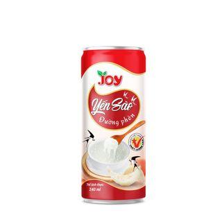 Thùng 30 Lon Nước Yến Sào Đường Phèn Đào JOY - Thơm Yến Sào - Đào Thanh Mát - Uống là mê ngay 250ml giá sỉ