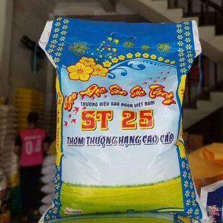 Gạo ST25 Loại Gạo Ngon Nhất Thế Giới ( Bao 10 kg) giá sỉ