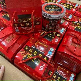 Hồng Sâm lát tẩm mật ong hũ nhựa 200gr giá sỉ