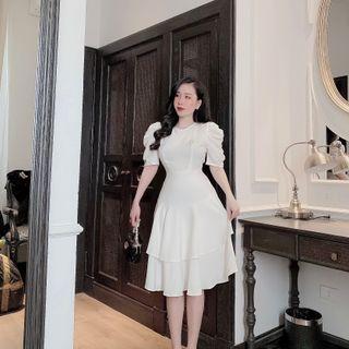 váy chân tầng giá sỉ