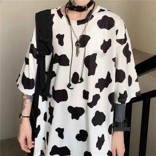 Áo thun cotton bò sữa đẹp giá sỉ
