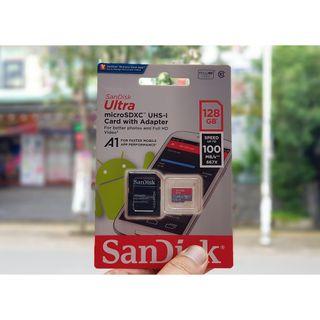 Thẻ Nhớ MicroSDHC SanDisk Ultra 128GB giá sỉ
