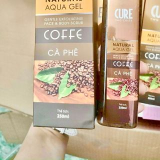 Tẩy kỳ hạt cà phê Cure giá sỉ