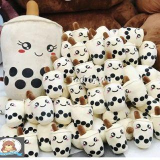 Gấu Bông Trà Sữa Nhỏ Trang Trí Dễ Thương Chất Liệu Lông Nhung Bông Gòn Cao Cấp - TF07 giá sỉ