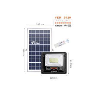 Đèn năng lượng mặt trời JINDIAN JD-8825L giá sỉ
