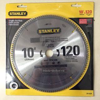 """""""Lưỡi Cắt Nhôm Stanley 255Mm X 120T 20-539-23 Stanley 20-539-23"""" giá sỉ"""
