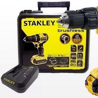 Máy Khoan Cầm Tay 18V-Bl Stanley Sbh201D2K-B1 Stanley SBH201D2K- B1 giá sỉ