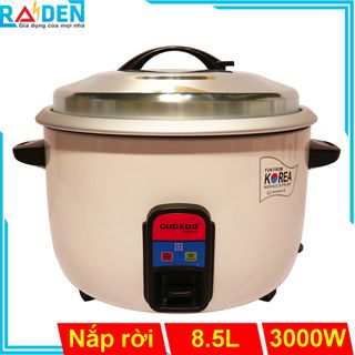 Nồi cơm điện 8.5L GUGKDD GK-3000 dùng cho quán ăn, nhà xưởng, căn tin giá sỉ