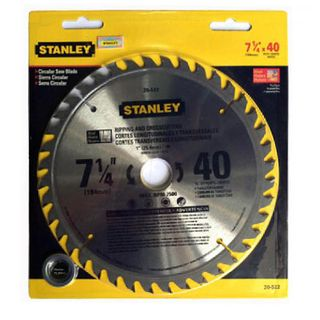 Lưỡi Cưa Gỗ Stanley 184Mm X 40T 20-522-23 Stanley 20-522-23 giá sỉ