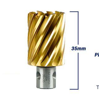 Mũi Khoan Từ Thép Gió Phủ Titanium CF Cooper MH35-36 giá sỉ