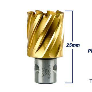 Mũi Khoan Từ Thép Gió Phủ Titanium CF Cooper MH25-32 giá sỉ
