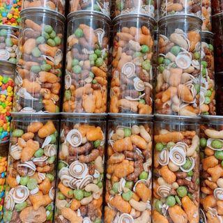 Snack lon thập cẩm sỉ 28k giá sỉ