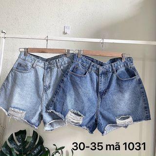 Quần Short jean nữ bigsize Ms1031 giá sỉ