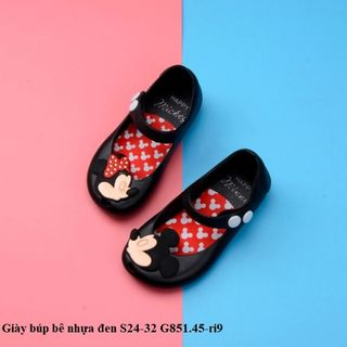 Giày búp bê nhựa đen S24-32 G851.45-ri9 giá sỉ