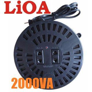 Biến áp Lioa 1500VA đổi điện từ 220V ra 100-120V giá sỉ