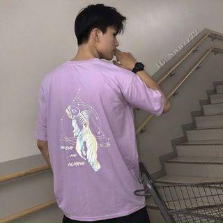 Áo thun phản quang 7 màu con cá giá sỉ